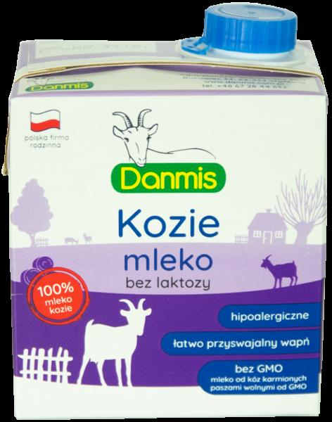 kozie mleko bez laktozy danmis